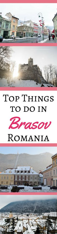 Best Things to Do in Brasov, Transylvania |  Romania | Brasov travel guide | Where to eat in Brasov | Brasov activities | Brasov, Romania |  Things to do in Romania