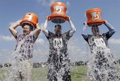 An Icy Wakeup Call Ice Bucket Challenge In the last week or so you may have noticed your social media being bombarded with people willingly throwing ice cold water over their heads. The ice bucket challenge was the brain child of Americans Corey Griffin and Peter Frates . It was developed as a way to raise funds and build awareness for ALS, an incurable and debilitating motor neurone disease that Frates was diagnosed with in 2012.  #philanthropy #charity #blog #Icebucketchallege #ibc