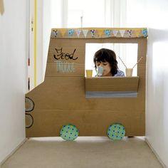 Cardboard Food Truck