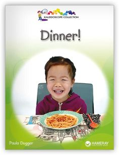 Excite readers about what utensils are needed to enjoy dinner with this delightful narrative text.