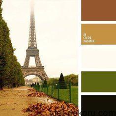 Ідеальні природні поєднання кольорів (45 палітр)