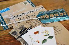 Snail mail Vier Vandaag!: Ontvangen post