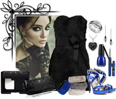 """sparkle and shine"" by candy420kisses on Polyvore"