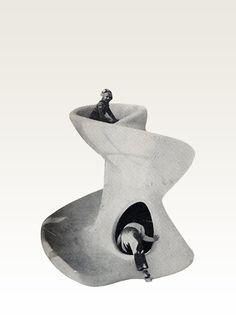 Egon Møller-Nielsen |  Play sculptures, 1954 Philadelphia - for Creative Plaything