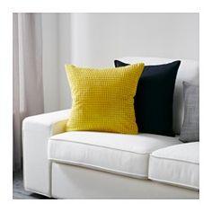 GULLKLOCKA Kussenovertrek, geel - IKEA - 50x50 cm - € 6,99