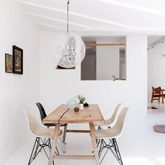 Nordic design #woodentable