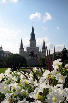 Spring in New Orleans - French Quarter: Jackson Square and St. Louis Cathedral