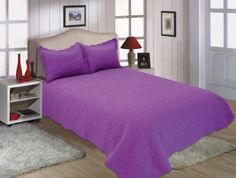 38H-All-For-You-3PC-quilt-set-bedspread-coverlet-reversible