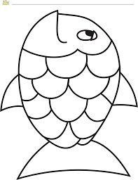 Seashell Template Free Printable Fish Template 50 Free Printable Pdf Documents Download Rainbow Fish Crafts Rainbow Fish Template Rainbow Fish Activities