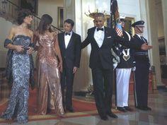 Washington - Alla cena di stato alla Casa Bianca - l'ultima del presidente Barack Obama - organizzata in onore del premier italiano Matteo Renzi, sono...