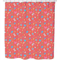 Uneekee Baby Toys Shower Curtain