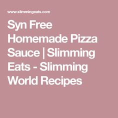 Syn Free Barbecue Sauce with no added sugar for those days with you fancy that smokey tangy sweetness or BBQ Sauce without the syns. Slimming Eats, Slimming World Recipes, Syn Free Sausages, Syn Free Breakfast, Breakfast Pizza, Quick Mac And Cheese, Butternut Squash Fries, Curried Cauliflower Soup, Quinoa Bites