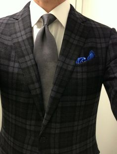 lacasuarina:  The return of the pocket whale.     Zegna 100% cashmere SC  Tindari shirt  Versace degrade tie  Tom Ford pocket whale  Creed Aventus