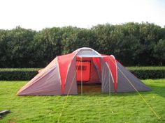 Peaktop 6 Man Tent, Large Tent, Fully Sewn In Groundsheet
