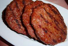 Ev Usulü Hamburger Köftesi