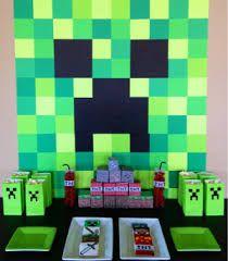 Resultado de imagen para ideas minecraft cumpleaños