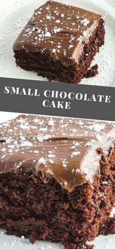 Easy No Bake Desserts, Easy Baking Recipes, Köstliche Desserts, Plated Desserts, Easy Delicious Desserts, Chocolate Snacks, Chocolate Recipes, Chocolate Fondant, Deserts