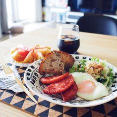 ごはん/料理/ダイニング/ザラホーム/コルクマット/ファームリビング…などのインテリア実例 - 2015-07-14 23:59:30 | RoomClip(ルームクリップ)