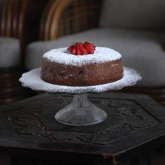 Gluten-free Sour Cherry Cake