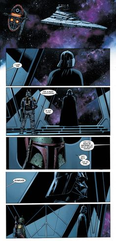 Turns out between movies Vader hired Boba Fett to look for clues on the identity of the rebel hero at the Battle of Yavin......