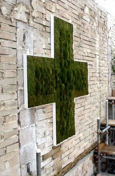 Anna Garforth's Moss Cross in the Urban Physic Garden: something for our patio?