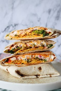 Sprøde Nachos Crunch Wraps – One Kitchen – A Thousand Ideas Gourmet Recipes, Mexican Food Recipes, Healthy Recipes, Nachos, Crunch Wrap, Tortillas, Crunches, Clean Eating Snacks, Food Inspiration