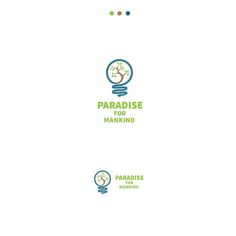Paradise For Mankind - Create a simple smart iconic logo for Paradise For Mankind