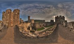 Mindblowing 360-degree photographs of Britain's best-loved attractions