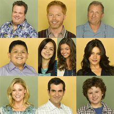 Modern Family - My Favorite Funny Show The Brady Bunch, Dry Humor, Partridge Family, Favorite Tv Shows, My Favorite Things, My Escape, Film Music Books, Celebs, Celebrity