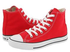 Converse Kids Chuck Taylor® All Star® Core Hi (Toddler/Youth) Red - Zappos.com Free Shipping BOTH Ways