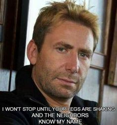 Saw this about Joe McIntyre...so Chad Kroeger needed one. Nickelback ecards and memes