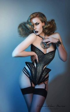 "f65db6a35a See more. aladyandhercorset  ""Waist ! Waist ! All Waist. Stunning corset by  Valkyrie Corsets."