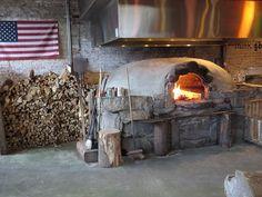 Brick oven pizza, Flatbread Company. DiscoverDavisSquare.com