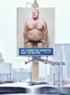 Y&R Not Just Film convinced the public that renting this billboard would be better than advertising the nude model.