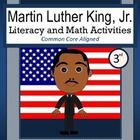 Martin Luther King, Jr. Math and Literacy Activities is a packet of 40 pages with a focus on math and literacy skills.  All pages follow the theme ...