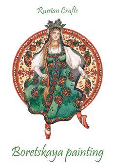 - Russian crafts - Boretskaya painting - by Losenko on DeviantArt