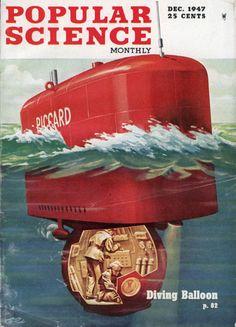 Así se veía el futuro en 1950