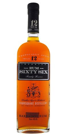 Rum Sixty Six 12 Year Old, Foursquare - Flaviar
