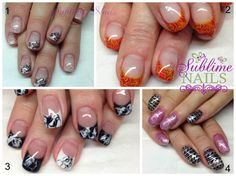 Nails by Sublime Nails~ www.sublimenails.ca #GelNails
