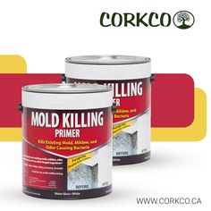 Corkco offers Mold Killing Primer at affordable prices. Our Mold Killing Primer is a water based fungicidal protective coating that can be used to paint over all existing mold, moss, fungi, mildew, odor causing bacteria and any other fungal organisms. Building Construction Materials, Ottawa, Fungi, Paint, Canning, Water, Gripe Water, Picture Wall, Mushrooms