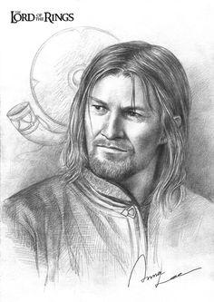 Boromir (via Boromir by ~ilxwing on deviantART)