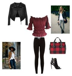 """""""Bez naslova #31"""" by sanela-halilovic-spreco ❤ liked on Polyvore featuring Burberry, Linea Pelle and Dsquared2"""