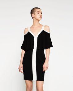 TWO-TONE DRESS-View All-DRESSES-WOMAN | ZARA United States