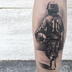 Finof – Everything for Tattoo Soccer Tattoos, Football Tattoo, Boy Tattoos, Family Tattoos, Body Art Tattoos, Sleeve Tattoos, Woman Tattoos, Wrist Tattoos For Guys, Tattoo For Son