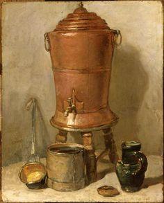 La Fontaine de cuivre, huile sur bois, 28,5x23 cm, Paris, Musée du Louvre  © RMN-Grand Palais (musée du Louvre) / Gérard Blot / Hervé Lewandowski