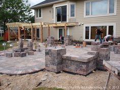 flat decks and small back yard | patio designs with deck backyard ... - Back Yard Patio Designs