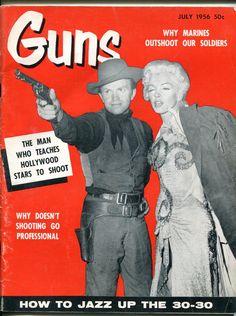 Guns, July 1956 (Marilyn Monroe)