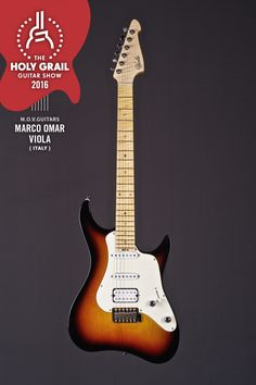 Exhibitor at The Holy Grail Guitar Show 2016: Marco Omar Viola, M.O.V. Guitars, Italy http://www.movguitars.com/public/index.php https://www.facebook.com/mov.guitars/?ref=hl https://twitter.com/MOVGuitars?lang=it https://www.instagram.com/movguitars/