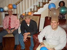 A few nights ago, Scott and I had the privilege of hosting a Christmas party for our church's deacons. We had a great time of fellowship and. Christmas Party Games, Christmas Crafts, Reindeer Christmas, Christmas Ideas, Xmas, Pantyhose Bowling, Redneck Games, Redneck Christmas, Balloon Games