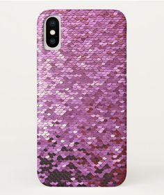 Pink Glitter Glamorous Mermaid iPhone X Case – Birthday Gift Idea Christmas Presents For Girls, Birthday Gifts For Girls, Girl Birthday, Cute Phone Cases, Iphone Cases, Apple Roses, Hannukah, Sparklers, Pink Glitter